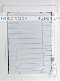 Жалюзи горизонтальные Изолайт, Изолайт 25 мм цвет 0120 Белый матовый от производителя жалюзи и рулонных штор РДО