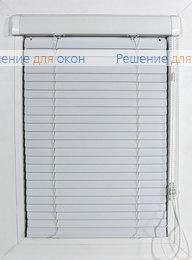 Жалюзи  Хит 2 на створку окна, ИзотраХит-2 25 мм, арт. 0225 Белый от производителя жалюзи и рулонных штор РДО