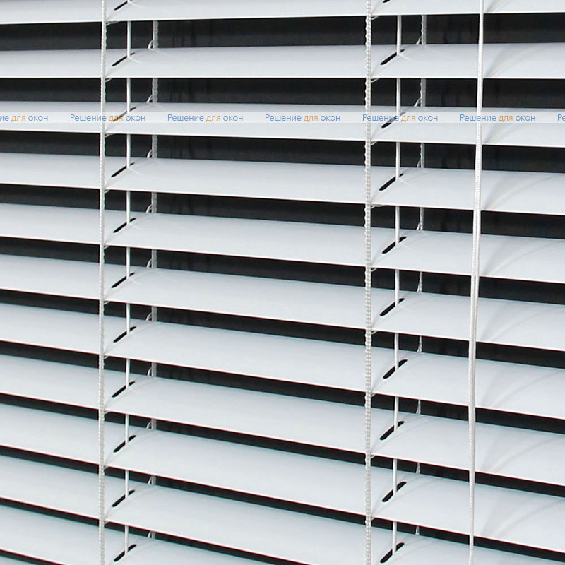 Жалюзи горизонтальные межрамные 25 мм, арт. 0225 Белый глянец от производителя жалюзи и рулонных штор РДО