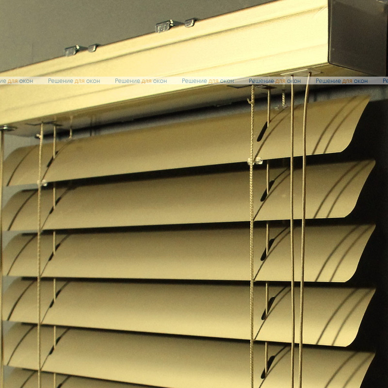 Жалюзи горизонтальные 50 мм,  арт. 150 Золотой металлик