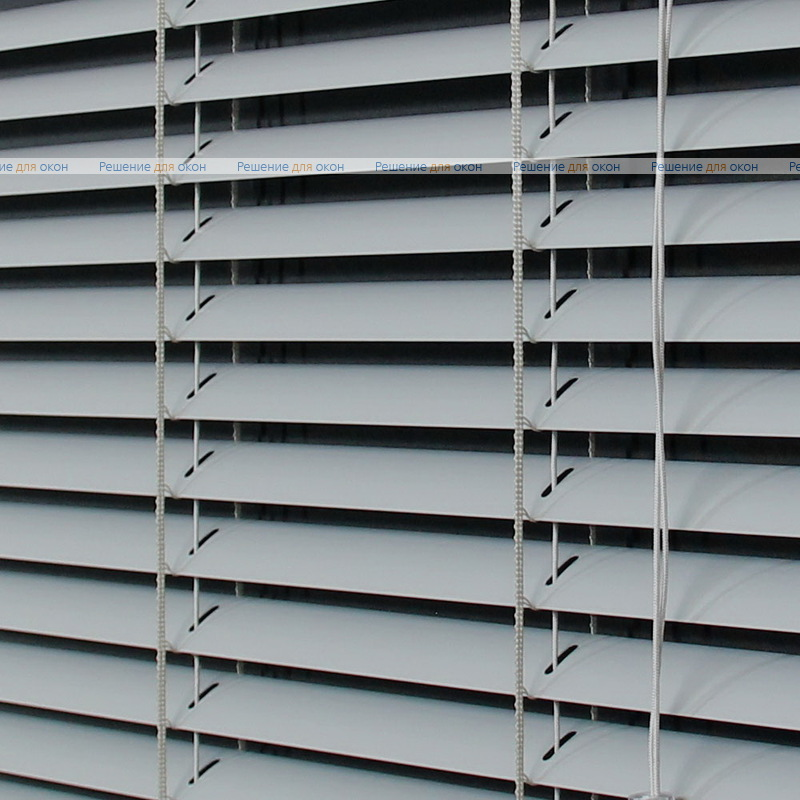 Жалюзи горизонтальные 25 мм, арт. 1606 Св. серый от производителя жалюзи и рулонных штор РДО