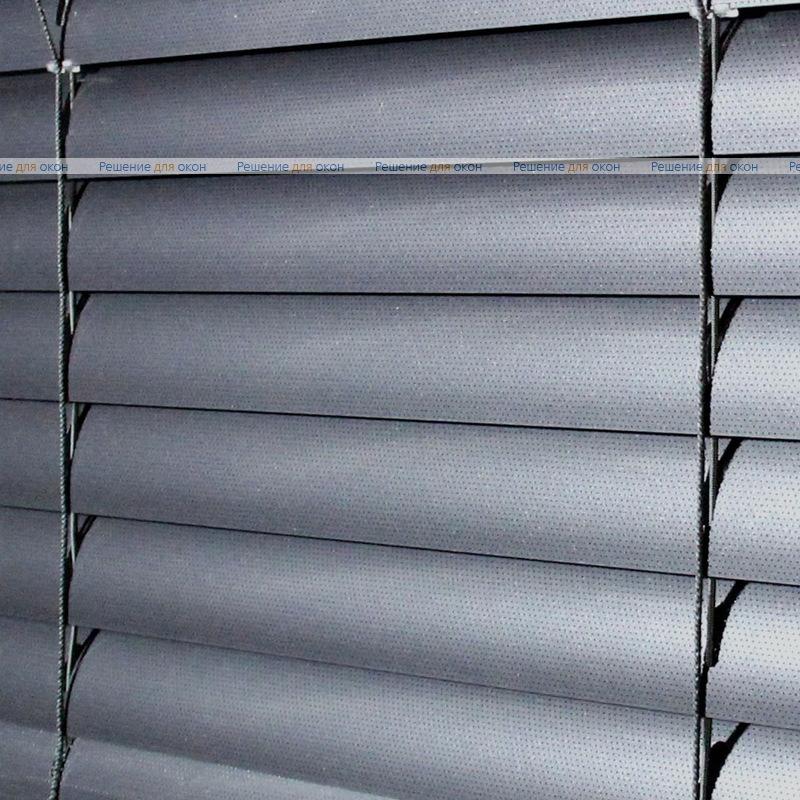 Жалюзи горизонтальные 50 мм, арт. 200 Темно серый металлик