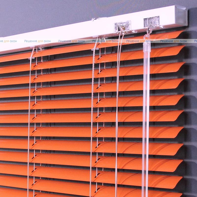 Жалюзи горизонтальные 25 мм, арт. 3499 Оранжевый от производителя жалюзи и рулонных штор РДО