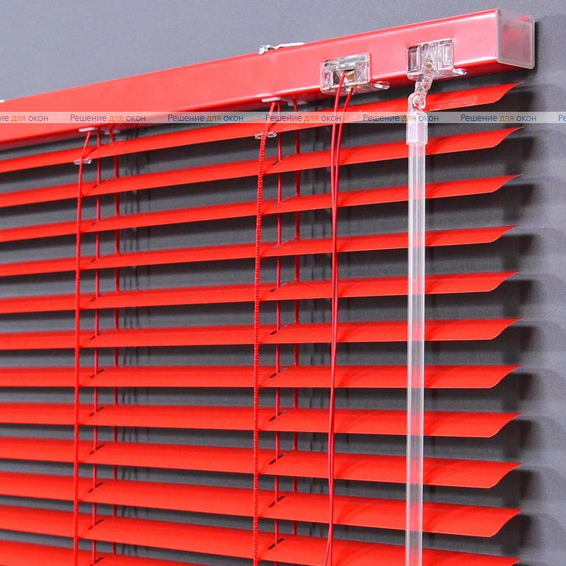 Жалюзи горизонтальные 25 мм, арт. 4077 Красный