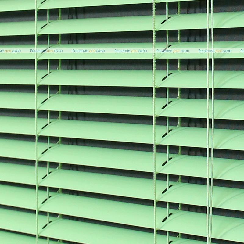Жалюзи горизонтальные межрамные 25 мм, арт. 5853 Салатовый
