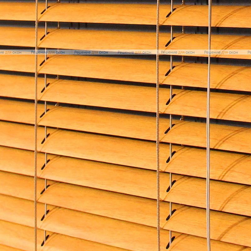Жалюзи горизонтальные межрамные 25 мм, арт. 6012 Бук от производителя жалюзи и рулонных штор РДО