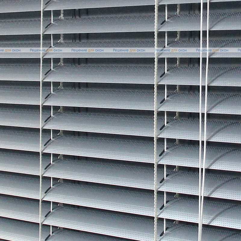 Жалюзи горизонтальные межрамные 25 мм, арт. 7005 Натуральный алюминий перфорация от производителя жалюзи и рулонных штор РДО