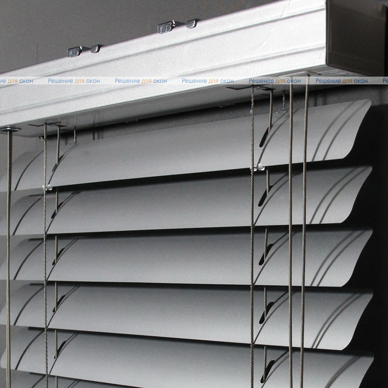 Жалюзи горизонтальные 50 мм, арт.7005 Натуральный алюминий