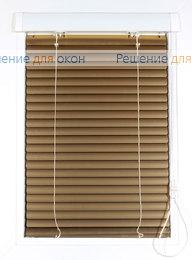 Жалюзи  Хит 2 на створку окна, ИзотраХит-2 25 мм цвет 7122 Желтое золото металлик от производителя жалюзи и рулонных штор РДО