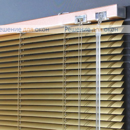 Жалюзи горизонтальные 16 мм, арт. 7125 Желтое золото от производителя жалюзи и рулонных штор РДО