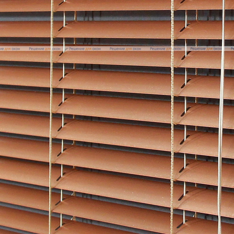 Жалюзи горизонтальные межрамные 25 мм, арт. 7128 Красное золото от производителя жалюзи и рулонных штор РДО