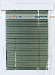 Жалюзи  Изолайт на створку окна, Изолайт 25 мм цвет 7256 Зеленый металлик от производителя жалюзи и рулонных штор РДО