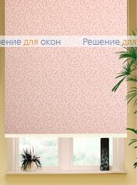 Коробные рулонные шторы РК-42 Бокс квадрат  КАЛИФОРНИЯ 3 розовый от производителя жалюзи и рулонных штор РДО