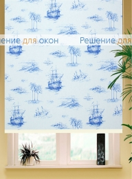 Коробные рулонные шторы РК-42 Бокс квадрат  МАГЕЛЛАН 01 от производителя жалюзи и рулонных штор РДО