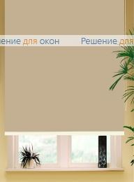 Коробные рулонные шторы РК-42 Бокс квадрат  АЛЛЕГРО 1060 кремовый хаки от производителя жалюзи и рулонных штор РДО