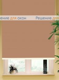 Коробные рулонные шторы РК-42 Бокс квадрат  АЛЛЕГРО 1065 (250 см) какао от производителя жалюзи и рулонных штор РДО