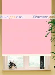 Коробные рулонные шторы РК-42 Бокс квадрат  АЛЛЕГРО 1130 розовый от производителя жалюзи и рулонных штор РДО