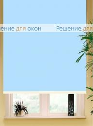 Коробные рулонные шторы РК-42 Бокс квадрат  АЛЛЕГРО 1150 светло-голубой от производителя жалюзи и рулонных штор РДО