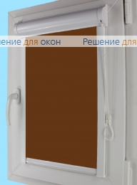 Уни плюс на створку окна, Уни плюс  АЛЛЕГРО 1180 коричневый от производителя жалюзи и рулонных штор РДО