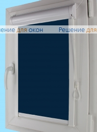 Уни плюс на створку окна, Уни плюс  АЛЛЕГРО 1190 темно-синий от производителя жалюзи и рулонных штор РДО