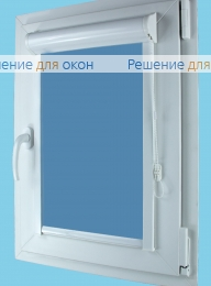 Вегас на створку окна, Вегас  ALLEGRO 1220 темно-голубой от производителя жалюзи и рулонных штор РДО
