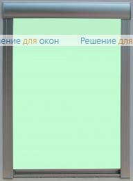 Премиум, Премиум  ALLEGRO 1240 бледно-салатовый от производителя жалюзи и рулонных штор РДО