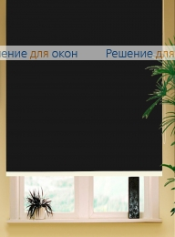 Рулонные шторы РК-65 (80) АЛЛЕГРО 5000 черный от производителя жалюзи и рулонных штор РДО