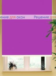Коробные рулонные шторы РК-42 Бокс квадрат  АЛЛЕГРО Б/О 1160 орхидея от производителя жалюзи и рулонных штор РДО