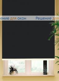 Рулонные шторы РК-65 (80) АЛЛЕГРО Б/О 5000 черный от производителя жалюзи и рулонных штор РДО