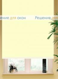 Коробные рулонные шторы РК-42 Бокс квадрат  БЕРЛИН Б/О 052 светло-бежевый от производителя жалюзи и рулонных штор РДО