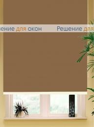 Коробные рулонные шторы РК-42 Бокс квадрат  БЕРЛИН Б/О 204 экрю от производителя жалюзи и рулонных штор РДО