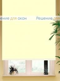 Коробные рулонные шторы РК-42 Бокс квадрат  БЕРЛИН СИЛЬВЕР 056 слоновой кости от производителя жалюзи и рулонных штор РДО