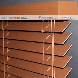 50мм, Жалюзи горизонтальные 50 мм, арт. Cherry Wood от производителя жалюзи и рулонных штор РДО
