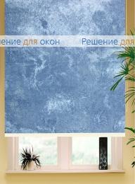 Коробные рулонные шторы РК-42 Бокс квадрат  КЛАУДИА 600 blue от производителя жалюзи и рулонных штор РДО