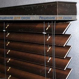 50мм, Жалюзи горизонтальные 50 мм, арт. Darc Brown Antic от производителя жалюзи и рулонных штор РДО