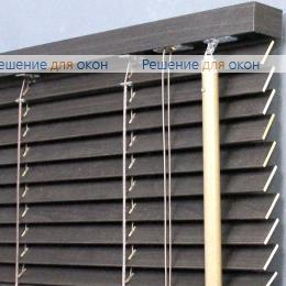 Жалюзи горизонтальные деревянные, Жалюзи горизонтальные 25 мм, арт. Ebony от производителя жалюзи и рулонных штор РДО