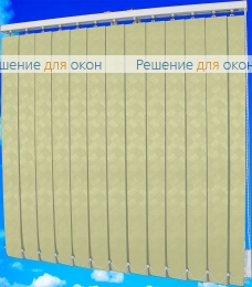 Жалюзи вертикальные ЖЕМЧУГ 021 бежевый от производителя жалюзи и рулонных штор РДО