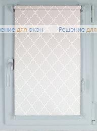 Компакт на створку окна, Рулонные шторы КОМПАКТ АРАБЕСКА от производителя жалюзи и рулонных штор РДО