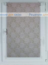 Компакт на створку окна, Рулонные шторы КОМПАКТ ДАМАСК 2 от производителя жалюзи и рулонных штор РДО