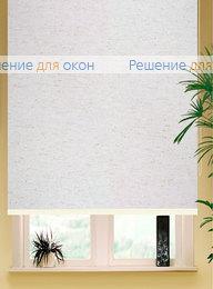 Коробные рулонные шторы РК-42 Бокс квадрат АЛЛЕГРО ЛЁН 1001 от производителя жалюзи и рулонных штор РДО