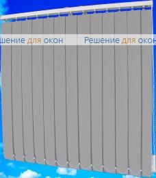 Жалюзи вертикальные тканевые, Жалюзи вертикальные ЛАЙН  033 темно-серый от производителя жалюзи и рулонных штор РДО