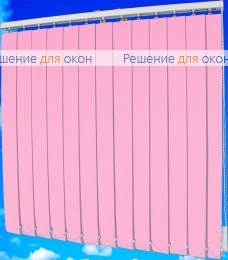 Жалюзи вертикальные тканевые, Жалюзи вертикальные ЛАЙН  061 розовый от производителя жалюзи и рулонных штор РДО