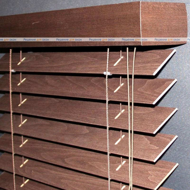 Жалюзи горизонтальные 50 мм, арт. Mahogany от производителя жалюзи и рулонных штор РДО