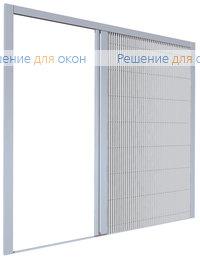 Плиссированная москитная система MINI 17 горизонтальный сдвиг, Плиссированная москитная система MINI 17 горизонтальный сдвиг от производителя жалюзи и рулонных штор РДО
