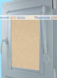 Уни, Уни  MIRACLE 403 желто-персиковый от производителя жалюзи и рулонных штор РДО