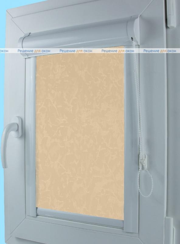 Уни  МИРАКЛ 403 желто-персиковый от производителя жалюзи и рулонных штор РДО