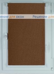 Компакт на створку окна, Рулонные шторы КОМПАКТ МИРАНДА 913 Капучино от производителя жалюзи и рулонных штор РДО