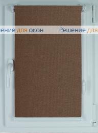Компакт на створку окна, Рулонные шторы КОМПАКТ МИРАНДА 914 Кофейный от производителя жалюзи и рулонных штор РДО