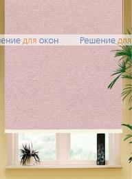 Коробные рулонные шторы РК-42 Бокс квадрат  МИРАНДА 936 Светло-розовый от производителя жалюзи и рулонных штор РДО