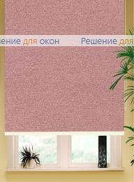Коробные рулонные шторы РК-42 Бокс квадрат  МИРАНДА 937 Темно-розовый от производителя жалюзи и рулонных штор РДО